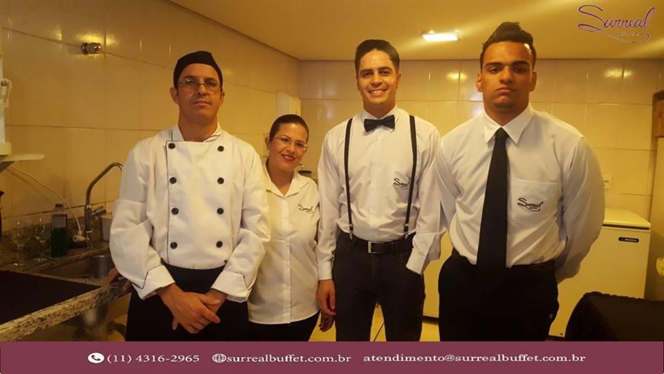 Equipe Fixa da Cozinha do Surreal Buffet